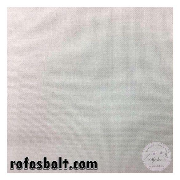Fehér pamutvászon/lepedővászon 105gr/m²