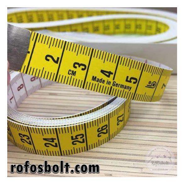 150 cm-es kétoldalas mérőszalag