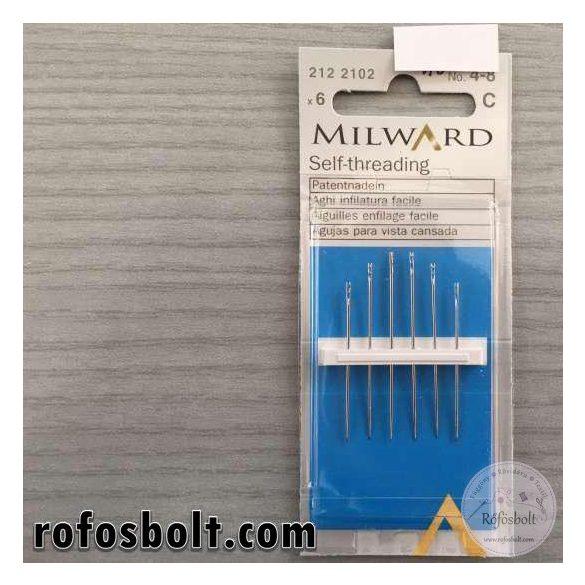 Milward önbefűző tű (kézi varráshoz) (212 2102)