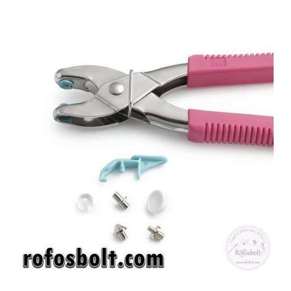Pink Prym Vario Love patentozó, lyukasztó és ringliző (390 902)