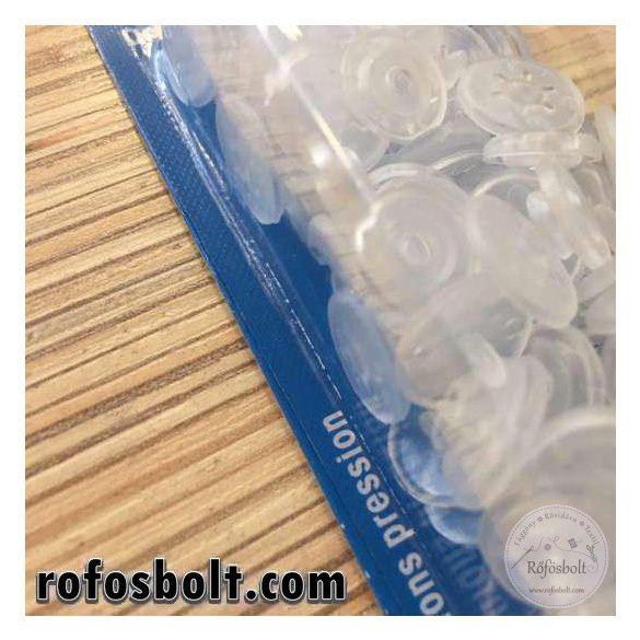 Átlátszó matt műanyag patent (393 198)