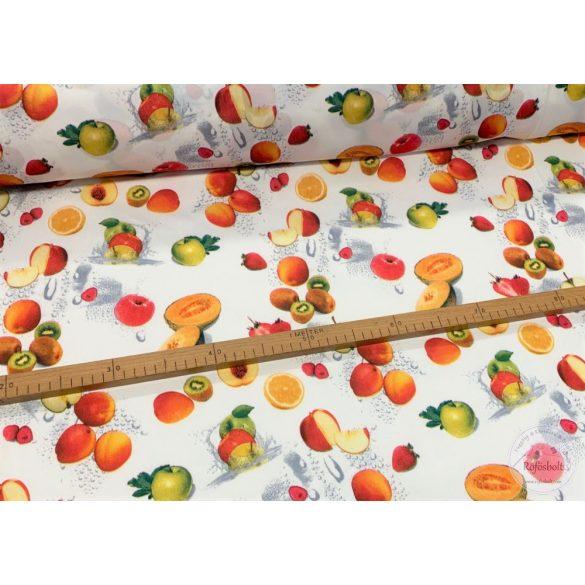Party: Kiwis, barackos, almás, sárgadinnyés vízlepergető szövet (ME3235)