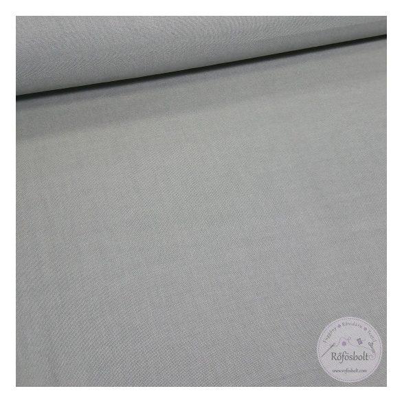 szürke egyszínű 150 cm sz. pamutvászon (ME4429)