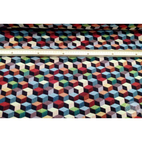 Kockás mintás dekortextil (ME4434)
