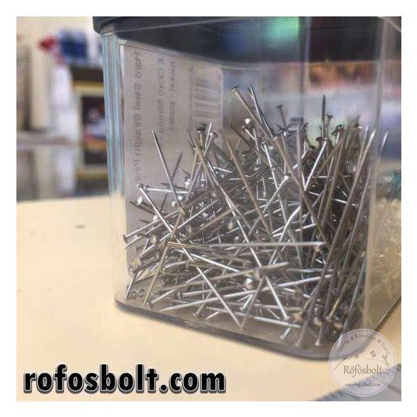 Gombostű: acél 3cm-es 25 gramm