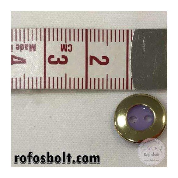 Arany-lila gomb (3)
