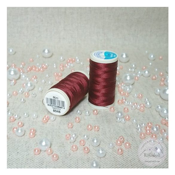 Nylbond bőrvarró cérna: bordó (BC8546)