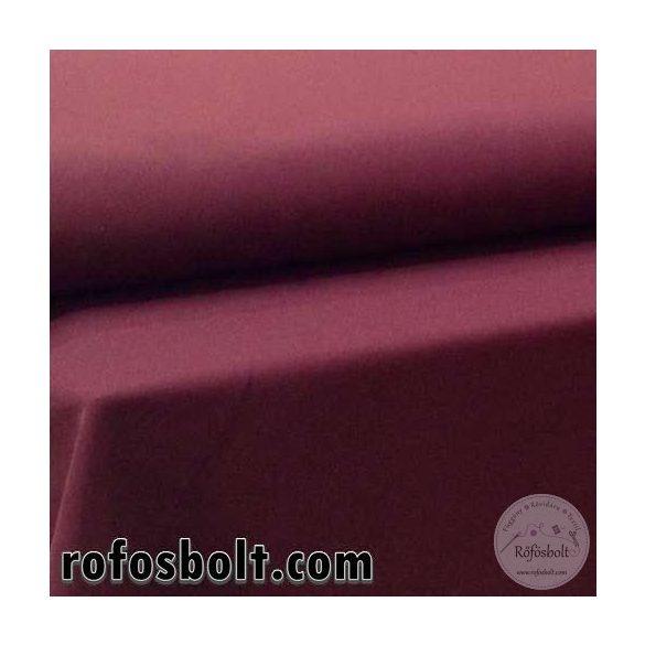Könnyű esésű árnyékoló: bordó (red wine) panama