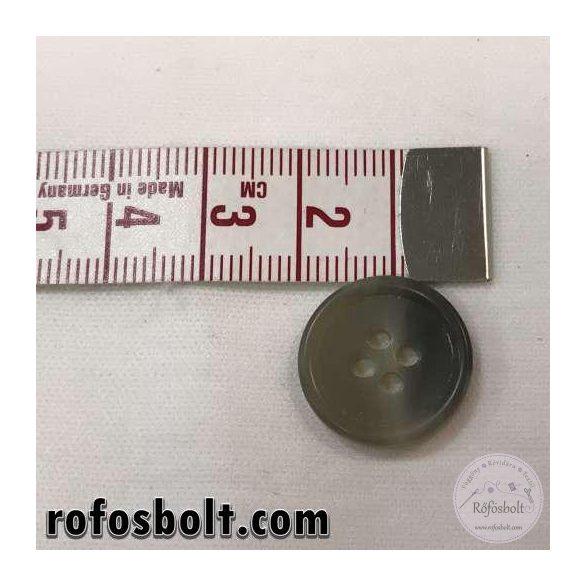 Cirmos drapp-szürke öltöny gomb (3)