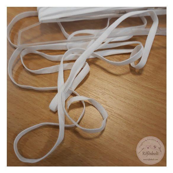 Fehér 6 mm-es MASZK gumi (kényelmesebb)