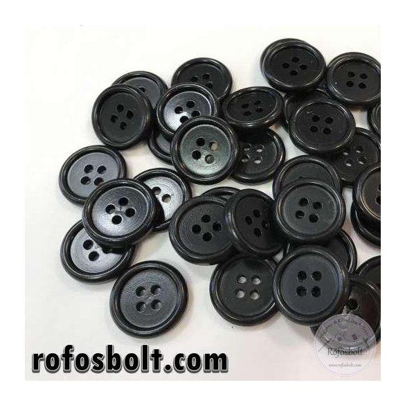 Fekete öltöny gomb (3)