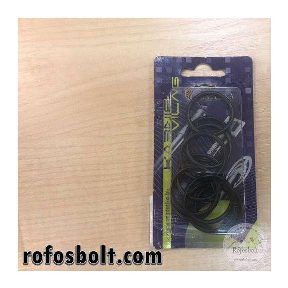 Fém függönykarika 16mm - fekete