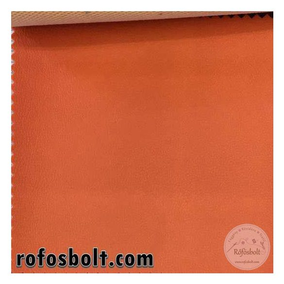 Inter műbőr: narancs (18008)