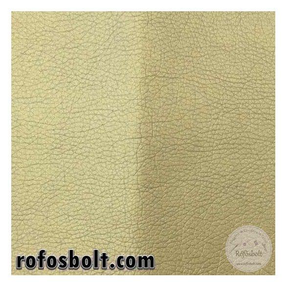Metál arany textilbőr K (Kaiman1001) 140 cm széles