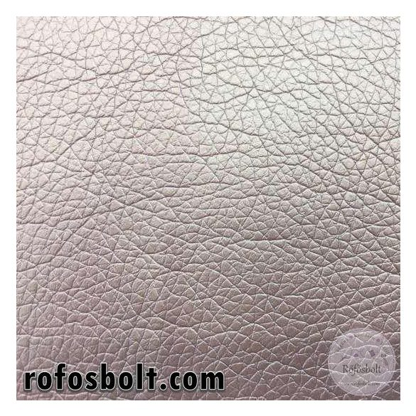 Metál világosbronz textilbőr K (Kaiman1002) 140 cm széles