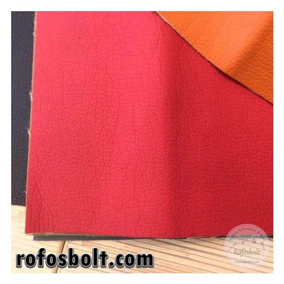 Piros textilbőr (Kaiman32) 140 cm széles
