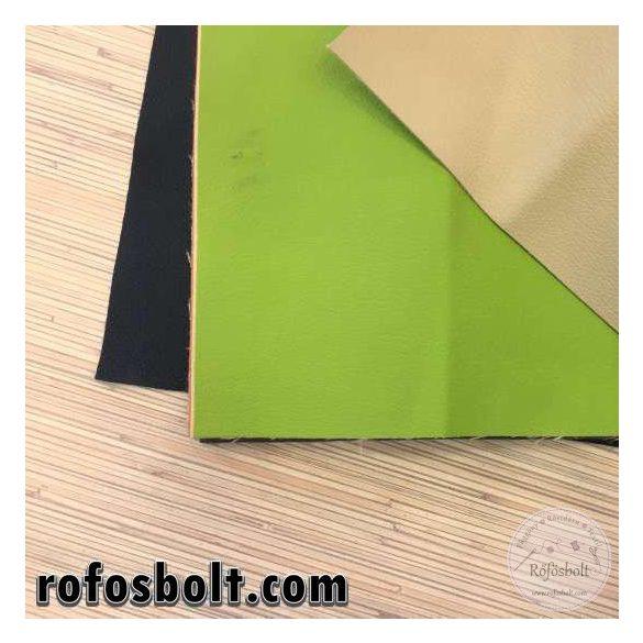 Zöld textilbőr (Kaiman429) 140 cm széles
