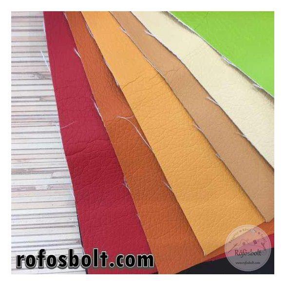 Vaj színű textilbőr (Kaiman95/01) 140 cm széles