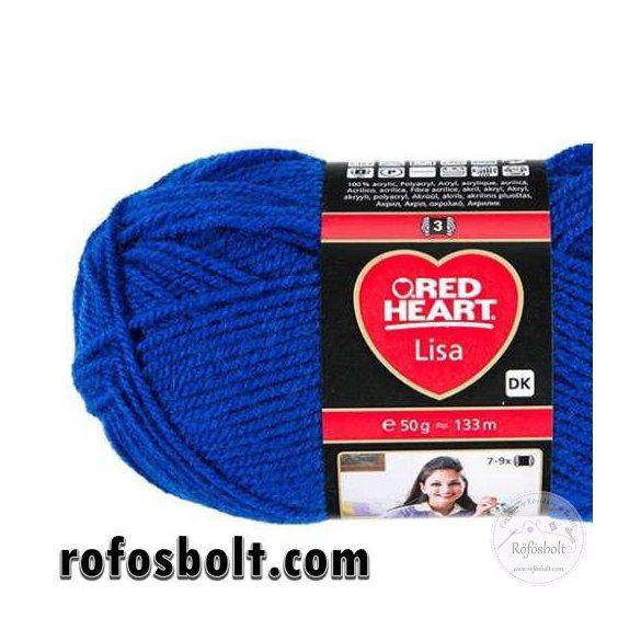 Red Heart Lisa Királykék fonal (133)