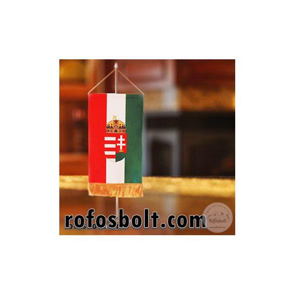 Magyar zászló címerrel több méretben