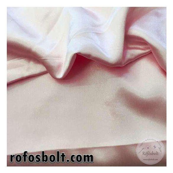 Elasztikus halvány rózsaszín szatén (ME1016)