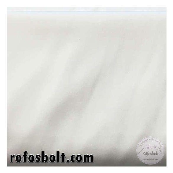 Elasztikus fehér szatén (ME1017)