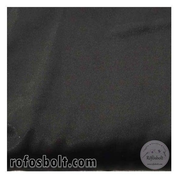 Elasztikus fekete szatén (ME1022)