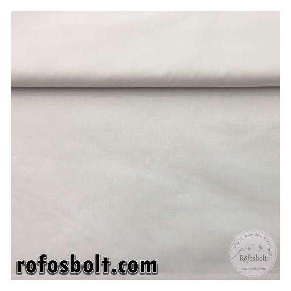 Pamutvászon: fehér egyszínű  (ME1038)