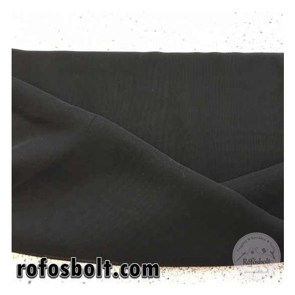 Fekete muszlin (ME1154)