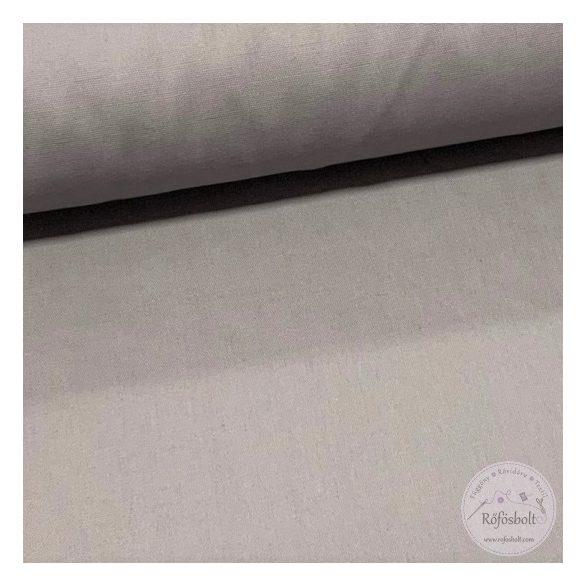 Egyszínű szürke dekortextil (munkaruha vászon) (ME1172-22-es szín)