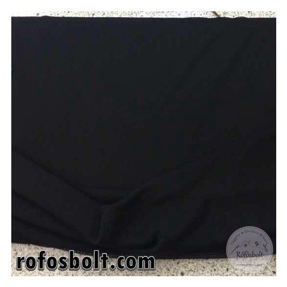 Fekete elasztikus táncruha anyag (ME1199)