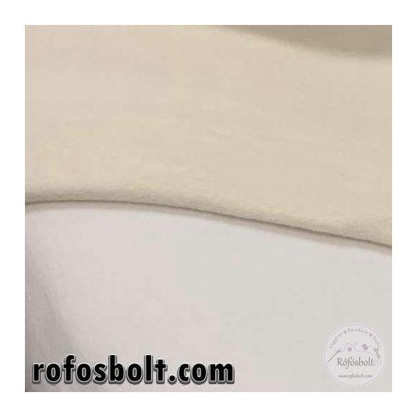Nyers/tört fehér polár (szín: 2) (ME1433)