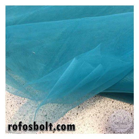 Petrolkék 300 cm széles elasztikus fátyoltüll (ME1516)