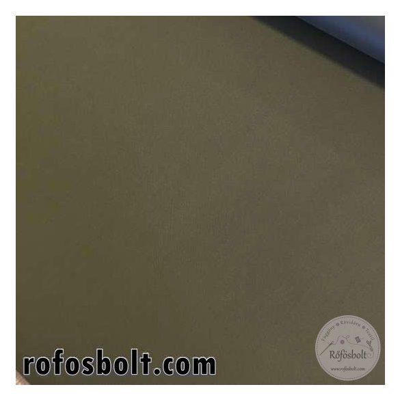 Vízlepergetős, erős gyöngyvászon 100% PE anyag: keki (katonai zöld) (ME1685)