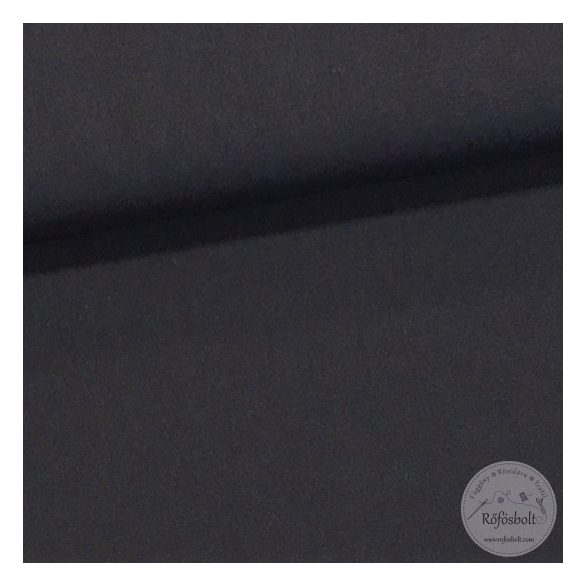 Fekete pamut jersey (ME1708)