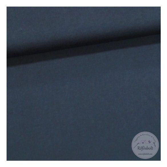 Sötétkék pamut jersey (ME1714)
