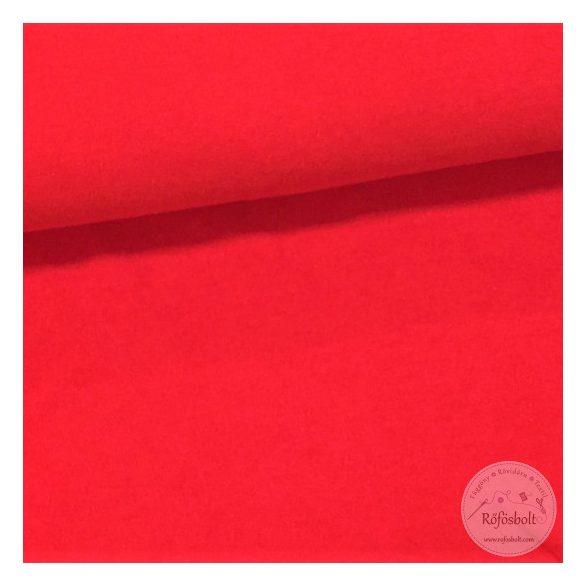 Piros pamut jersey (ME1730)