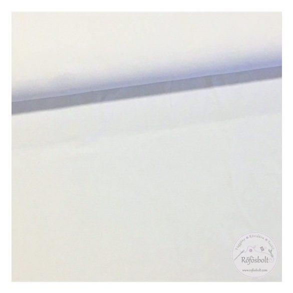 Fehér pamut jersey (ME1736)