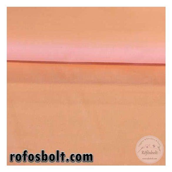 Apricot (barack színű) egyszínű pamutvászon (ME1806)