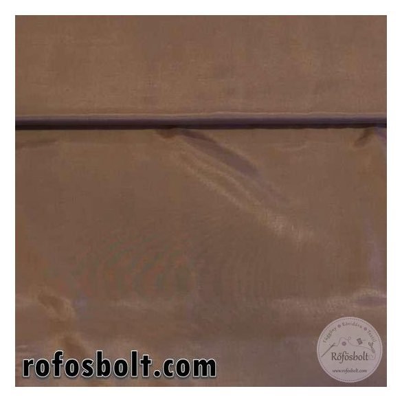 EGYBEN KÉRHETŐ 0,65 m  Toffifee színű acetát bélés (ME2078)