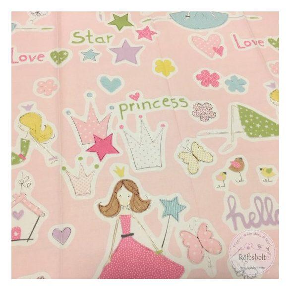 Twister Princess A25 dekortextil, rendelős anyag (ME2191)