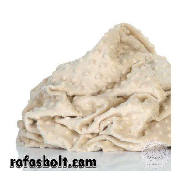 Premium Minky: Halvány homok (bleached sand) ME2250