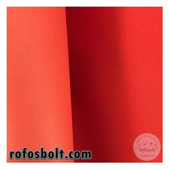 Vízlepergetős, erős gyöngyvászon 100% PE anyag: piros (ME2346)
