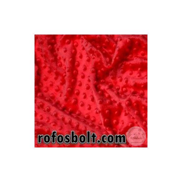 Premium Minky: Piros (ME2498)