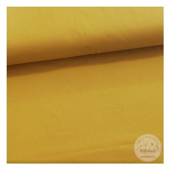 Mustár sárga pamut jersey (ME2578)