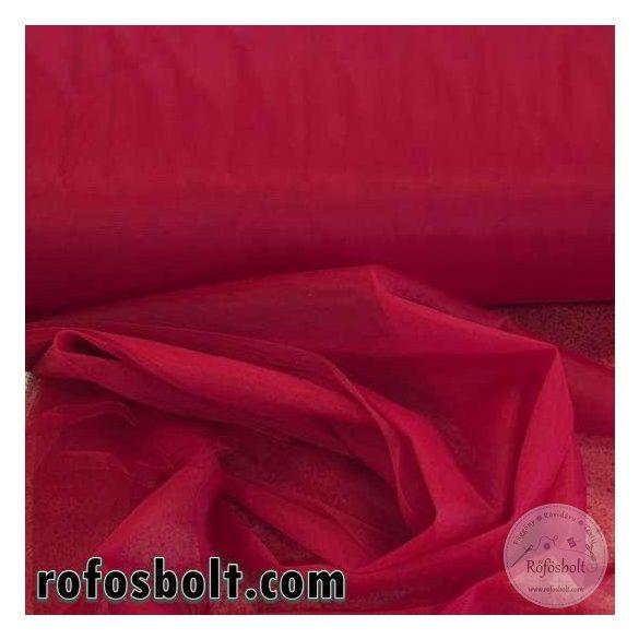 Bordó elasztikus fátyol tüll (ME2589)