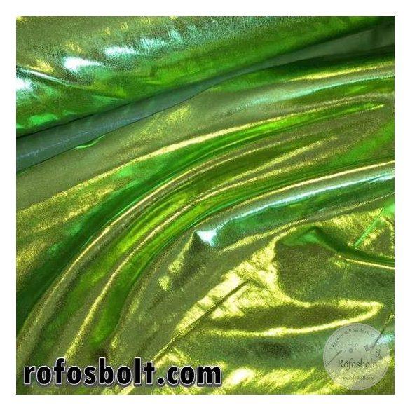 Zöld fényes elasztikus lamé (ME2676)