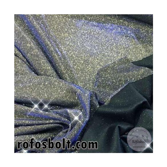 Lurex: Arany(100% PE, elasztikus) kékes fénnyel (ME2763)