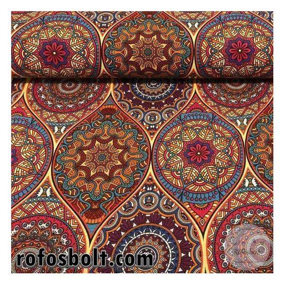 Molly színes mandalás dekortextil (ME2904)