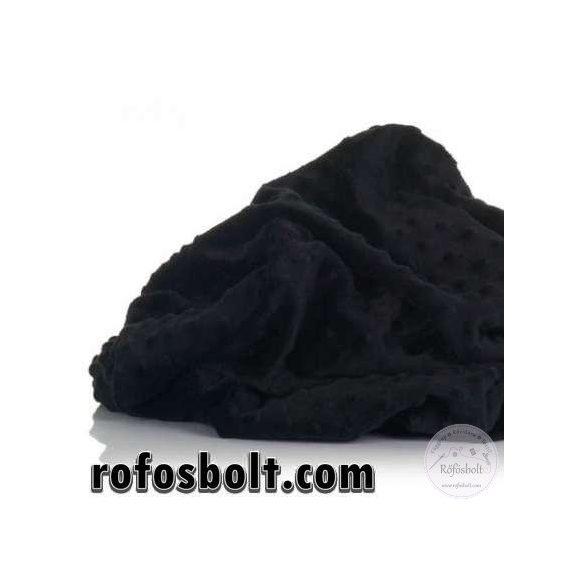 Premium Minky: Fekete (ME2926)
